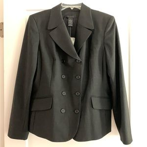 The Limited black double breasted blazer, NWT